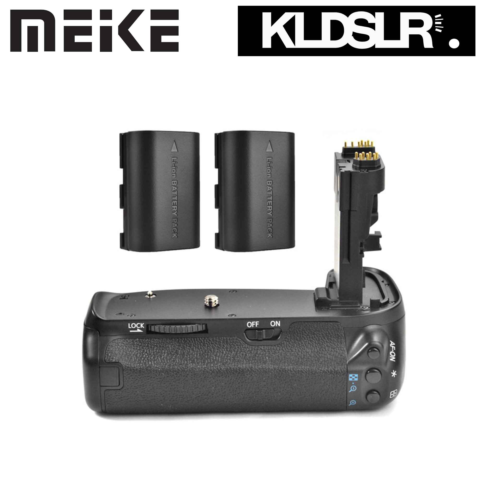 MeiKe BG-E14 Vertical Battery Grip Holder For Canon EOS 70D Camera